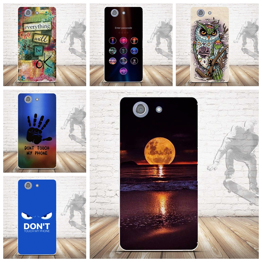 Fashion Painted TPU Soft Case Sony Xperia Z3 Compact Silicone Back Case Sony Xperia Z3 Compact Z3 Mini Phone Case Cover