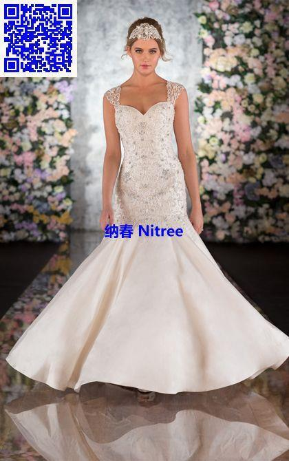 Nitree fashion collection sexy vintage luxury designer for Romantic wedding dress designers