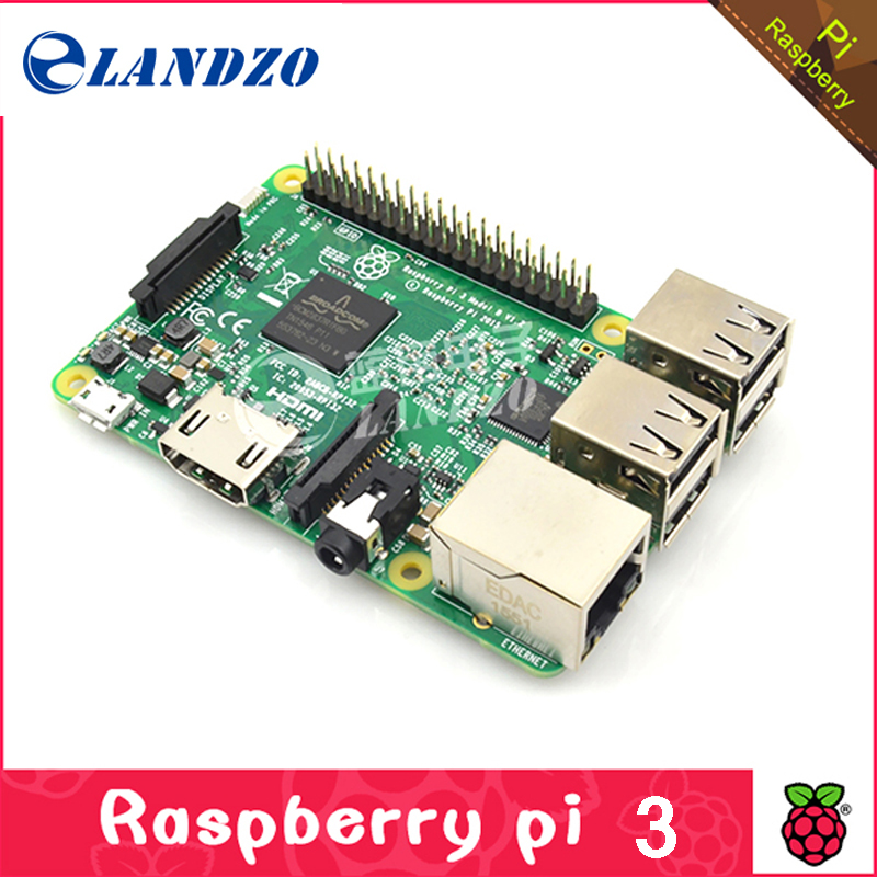 2016 New Original Raspberry Pi 3 Model Board LPDDR2 BCM2837 Quad-Core Ras PI3 B,PI 3B,PI 3 B Element14 Version WiFi & Bluetooth(China (Mainland))