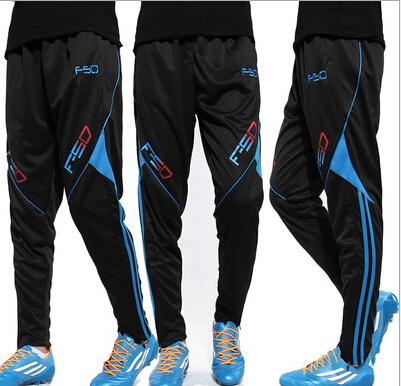 Fashion Skinny Football Pants Training Men Thin Polyester Quick Dry Soccer Pant Brand Sport Running Trouser Jogging Cloth(China (Mainland))