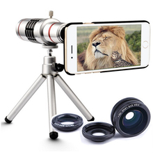 Buy Camera Lens Phone 18x Zoom Telescope Mobile Phone Telephoto Lens Tripod iPhone 6 5 Samsung S8 S8 Plus Huawei Xiaomi for $26.33 in AliExpress store