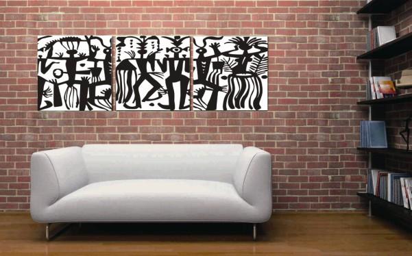 India Dancer Wall Art Oil