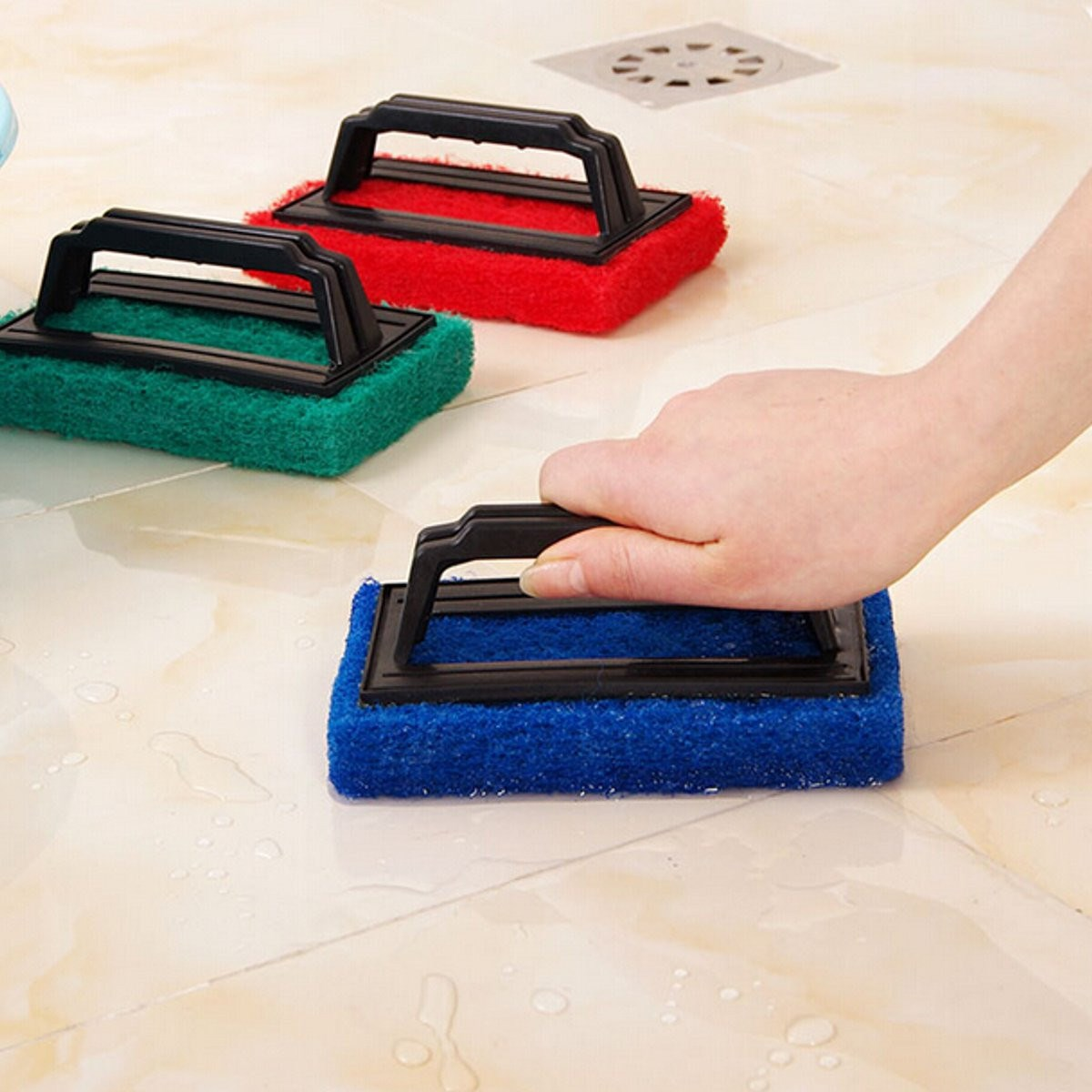 Kitchen Multi-functional Magic Cleaning Brush Home Bathroom Foam Sponge Eraser Stain Remover Household Cleaner Supplies(China (Mainland))
