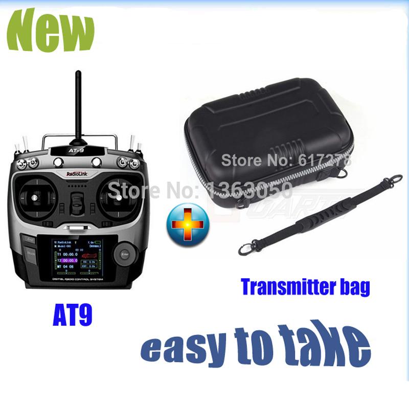 Здесь можно купить  2015 Radiolink 2.4G AT9 Radio Control System 9CH Transmitter & Receiver TX + Remote Controller Bag Free Shipping   Игрушки и Хобби