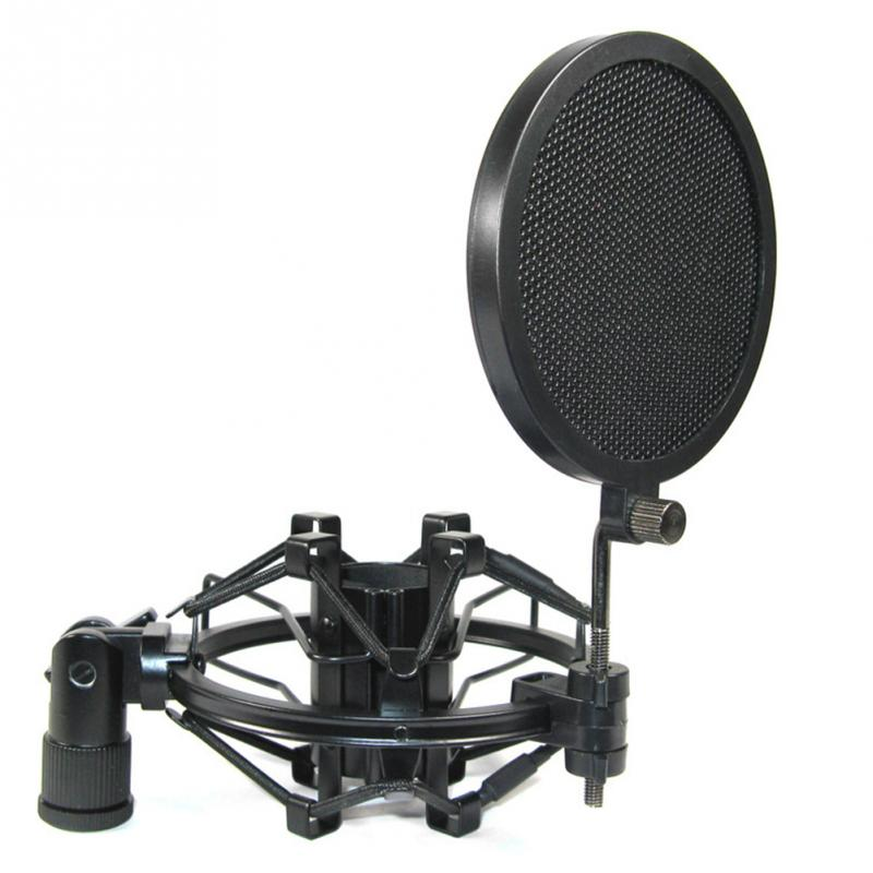 NEW High quality broadcast recording condenser microphone pop protective screen dedicated bop cover(China (Mainland))