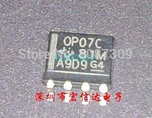 100PCS free shipping 100% OP07C OP07CD OP07CDR operation of linear instrumentation amplifier amplifier SOP-8 100% new original(China (Mainland))