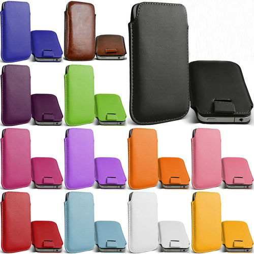 Free Shipping Leather PU Pouch Case Bag for iphone 3gs Cell Phone Accessories(China (Mainland))