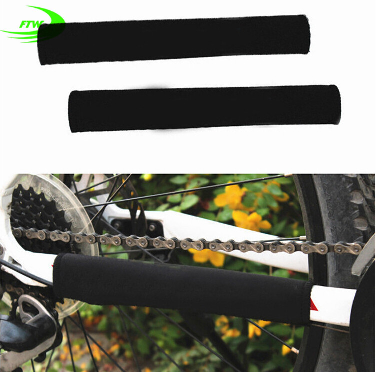 Brand Durable Cycling Chain Stay Chainstay Bike Bicycle Guard Cover Frame Black Protector SM3204(China (Mainland))