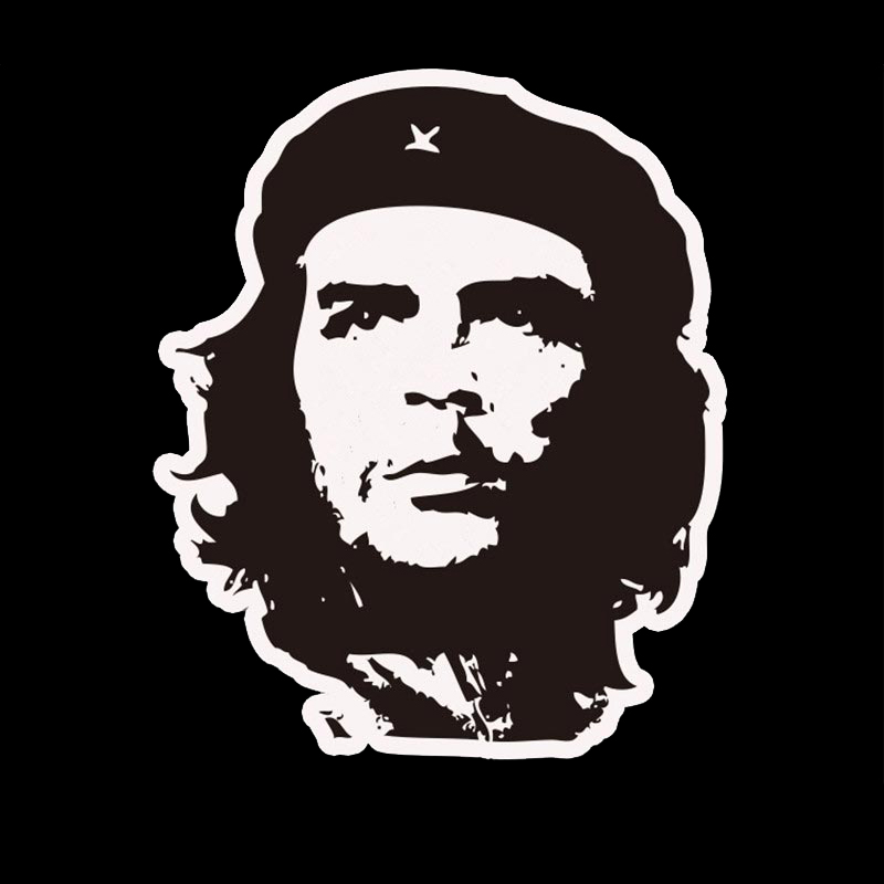 Che Guevara Pattern Motorcycle Car Sticker For opel renault toyota mazda car-styling car-covers Stickers For lada kia rio golf 4(China (Mainland))