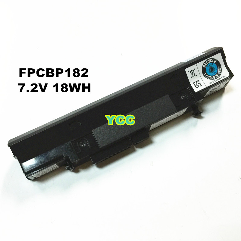 New FPCBP182 battery for Fujitsu U1010 series laptop CP345737-01 FPB0151-01 2Cell 7.2v 2600mah 18wh free shipping(China (Mainland))