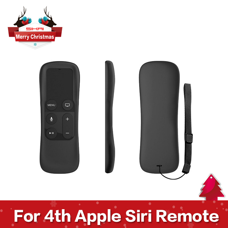 Гаджет  Silicone Protective Cover Case For Apple TV 4th Generation Remote Controller  For Apple TV 4 Siri Remote Case Ergonomico Design None Телефоны и Телекоммуникации