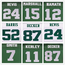 15 Brandon Marshall jerseys 24 Darrelle Revis 87 Eric Decker Elite 7 Geno Smith 12 Joe Namath green jerseys 52 David Harris(China (Mainland))
