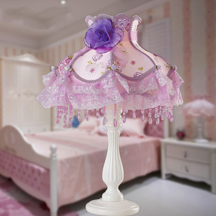 Bed-lighting luxury lamp modern brief fashion table lamp personalized princess lamp dimmable lamp(China (Mainland))