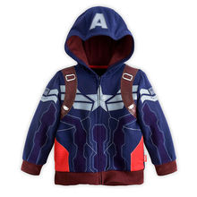 2016 New Fashion Fall Boys Avengers Kids Jackets and Coats Kids Super Hero Captain America Jackets