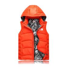2015 New Brand Autumn winter Duck Down Men's Vest Coat Couple's Waistcoat High Quality Sleeveless Winter Outdoor Casual Jacket(China (Mainland))