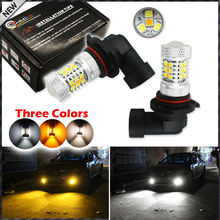 Buy 2pcs Color Switchable Xenon White/Amber Yellow SAMSUNG High Power 9005 HB3 9011 LED Bulbs Fog Lamps Driving Light Replacement for $26.69 in AliExpress store