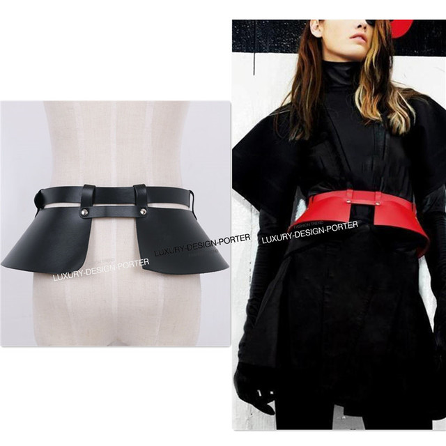 Дизайнер бренда леди корсет шикарный из натуральной кожи взлетно-посадочной полосы пояс корсет стиль упаковка ремни