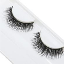 Jimshop 1 Pairs Fashion Natural Handmade Beauty Dense False Eyelashes Beauty Dense Eyelashes Free Shipping Lowest Price(China (Mainland))