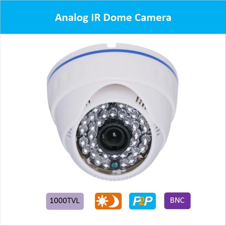 1000TVL IR dome security Camera CMOS CCTV Camera day/night analoge camera free shipping indoor camera