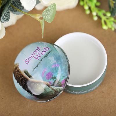 Free Shipping Wish Genie 15g Essential Oil Body Cream pure fresh perfumes lady solid frangrances origin brands(China (Mainland))