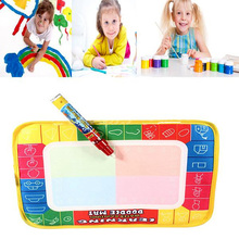 New Baby toys Educational Toys Water Writing Painting Drawing Mat Board &Magic Pen Doodle Kids Game Brand Children gifts(China (Mainland))