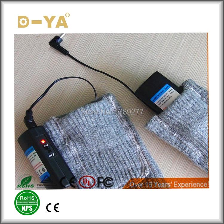 chauffage lectrique chaussettes de chaleur lectrique portable batterie en charge chaussettes. Black Bedroom Furniture Sets. Home Design Ideas