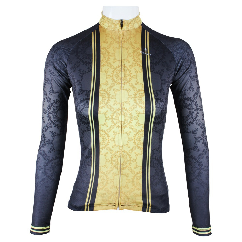 Paladin New Product Sport Women's Female Classic Autumn and spring Style 100% Polyester Long Sleeve Cycling Jersey(China (Mainland))