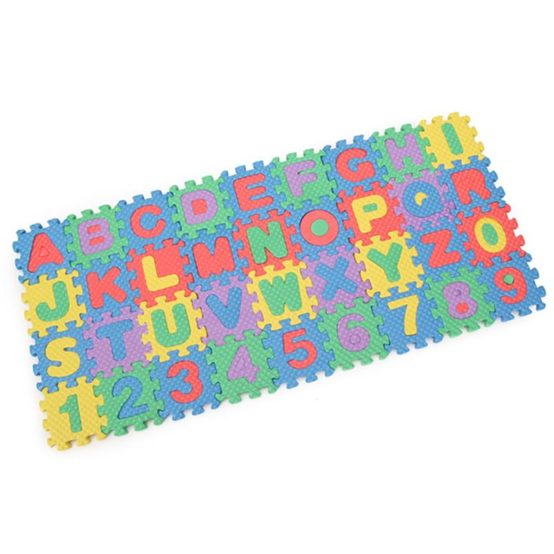 72pcs Baby Kids Eva Foam Alphabet Letters Number Mat 3d