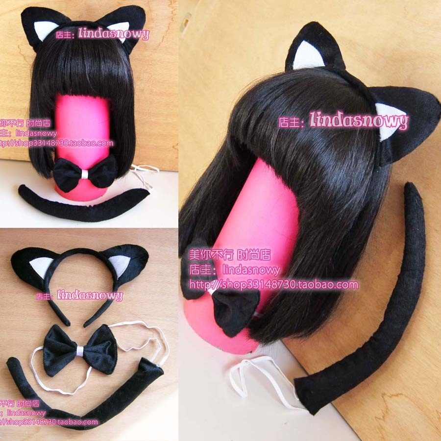 Cos props animal piece set hair accessory headband hair bands ear