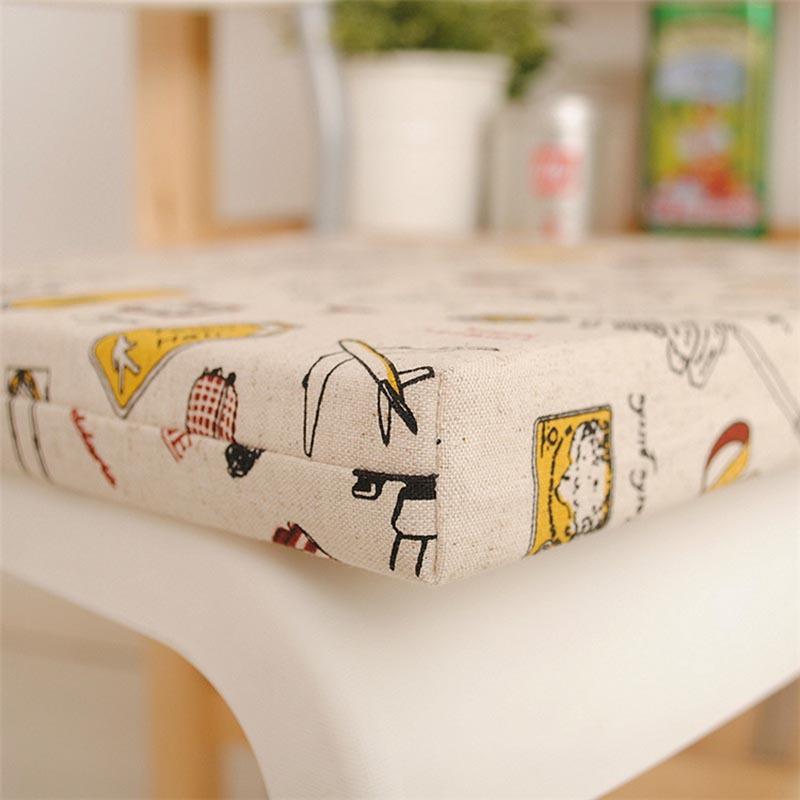 Korean factory direct wholesale cotton chair cushion pad computer Seat cushion chair pad