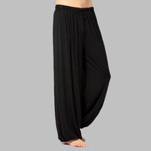 Плюс размер брюки мужчины и женщины Модальные шаровары штаны дома тай-чи штаны как бесплатная доставка(China (Mainland))