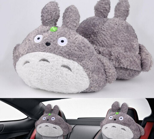 Animal Pillow Relaxation : 1X Kawaii Plush Stuffed TOY TOTORO CAR Driving Relax Pillow Car Cushion Pillow Home Neck Relax ...
