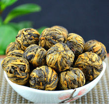 China Yunnan Handmade Dianhong Black Tea 150g,Small gold ball,Protect stomach,Diuretic and lowering blood pressure Free shipping