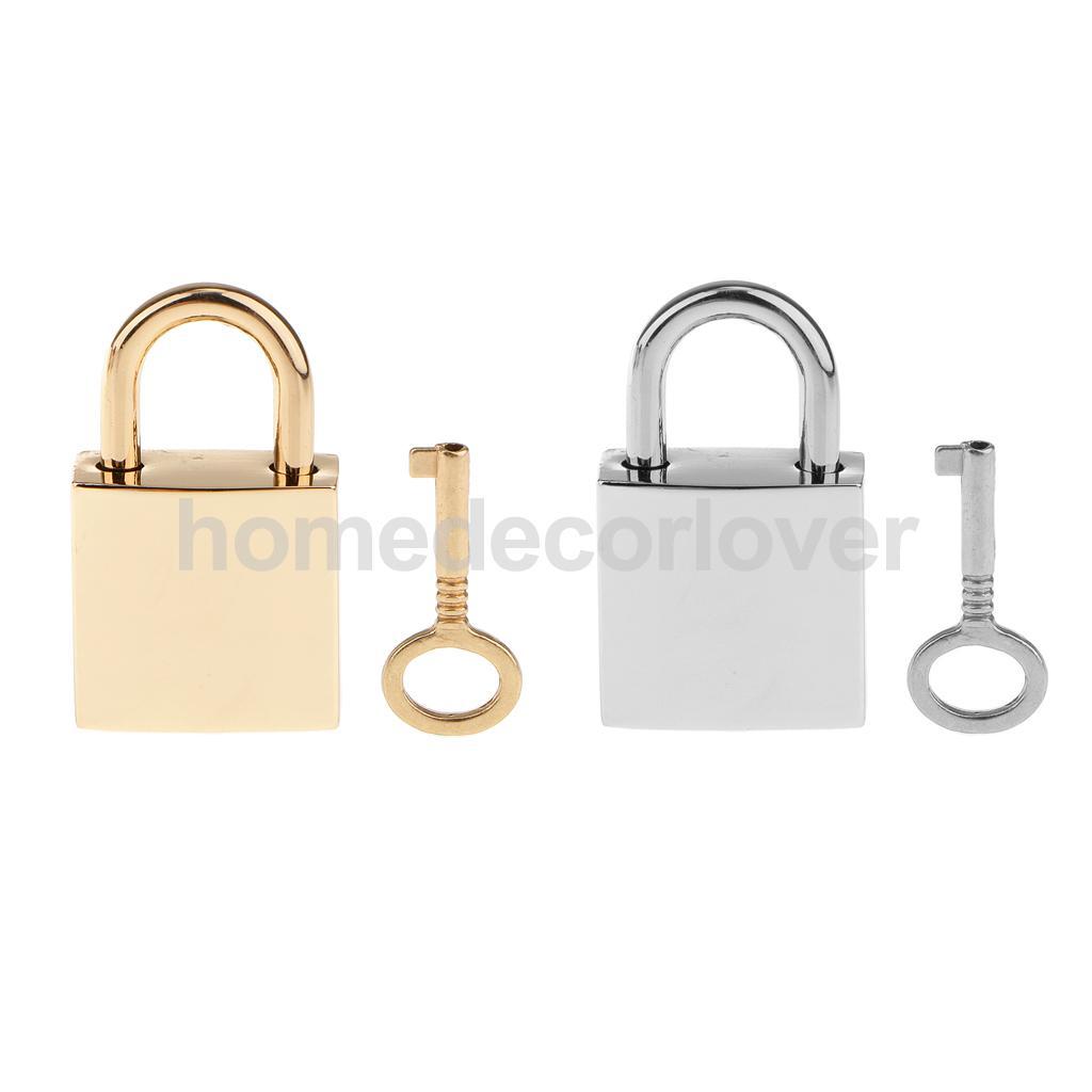 1 X Square Padlocks Mini Pad Locks Suitcase Luggage Bags Pad Lock(China (Mainland))