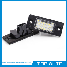 1Pair 18SMD LED Number License plate Light OEM Replacement for VW Tiguan,Touareg,Golf5 5D touring,Passat (B5.5) 5D touring(China (Mainland))