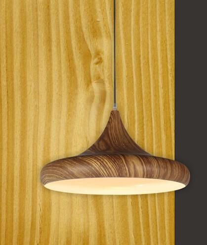 Купить Европейский старинный дизайн ресторан бар промышленные светильники studyroom люстра деревянная цвет зерна одной головы дизайн