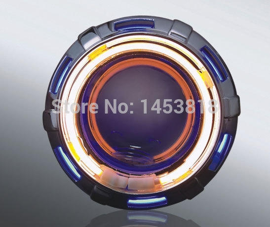 ON SALE 2inch 13B Motorcycle HID Double Ray Bi xenon Projector Lens red yellow blue green white 8000k 6000k 4300K H4 Universal(China (Mainland))