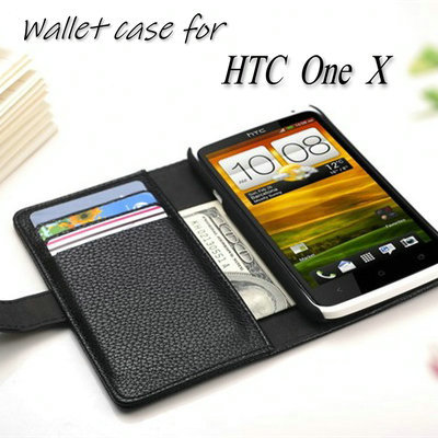 Luxury Wallet Stand Design Leather Case for HTC One X S720e G23 Phone Cover with Card holder Book Style 8 Colors(China (Mainland))