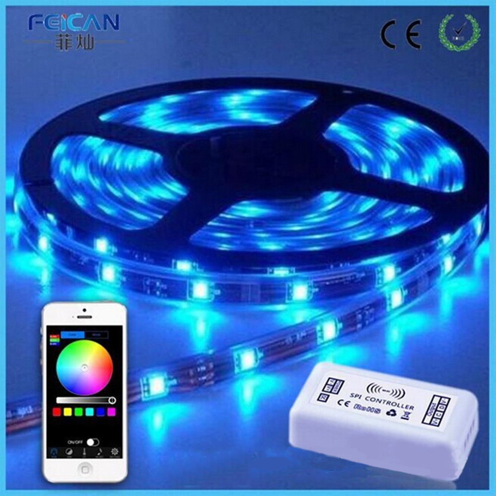 DC12V WIFI SPI LED Controller Support IC LPD6803,TM1803,WS2811 etc By IOS/Android APP SPI Controller For Dream Color Led Strip(China (Mainland))