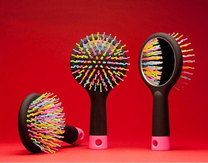 Free Shipping New Color Comb Magic Hair Brush Hair Salon