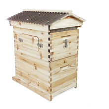 Convenient And Durable Beehive Box Wooden Flow Hive Case For Professional Beekeeper Hive Boxes(China (Mainland))