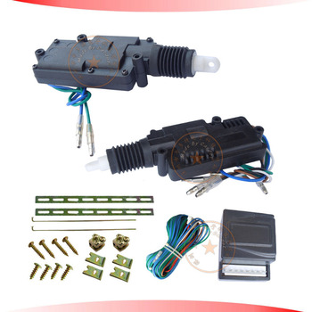 hot seling central lock system black motor header 2 five wire actuators,working with car alarm,free shipping CE passed!CD-HCL25B