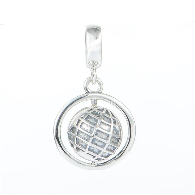 925 серебряные ювелирные изделия Globle мотаться бусины для человека и женщин DIY создание приспосабливать европейские браслеты и ожерелье