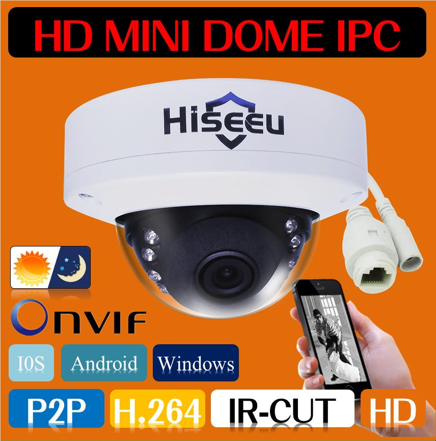 Free shipping 1MP 720P-2MP-1080P HD Security CCTV Camera Network IP Camera IR Dome Cam Android IOS Remote ONVIF H.264 P2P NVR(China (Mainland))