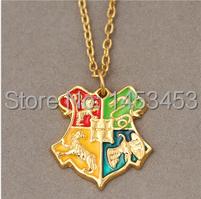 Harry Potter Hogwarts School necklace cosplay accessory(China (Mainland))