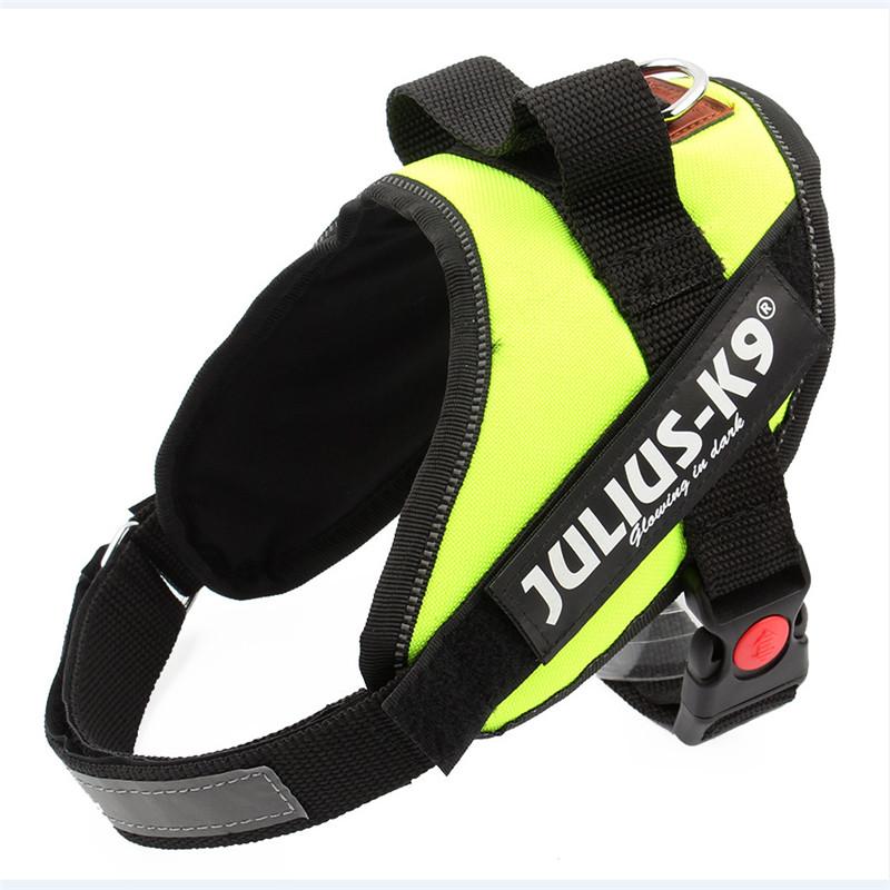 Brand Dog Harness Vest JULIUS K9 Dog Vest Four seasons apply Pet Nylon Net Professional Dogs Cloth Chest Free Shipping(China (Mainland))