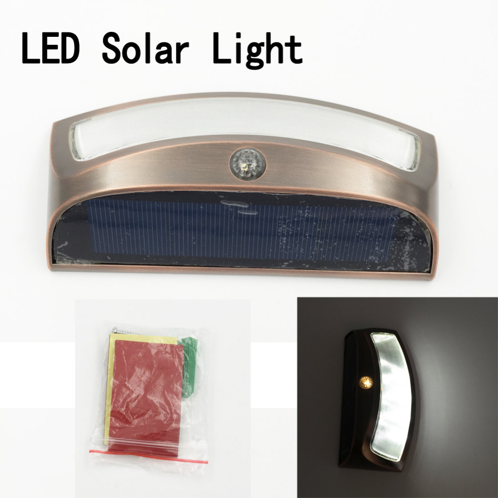 new arrive 4 led light operated outdoor garden solar powered light