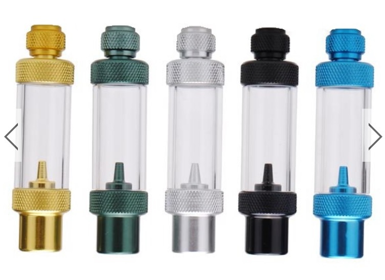 Free Shipping !!! WYIN W00-02A One Way Metal CO2 Bubble Counter Check Valve(China (Mainland))