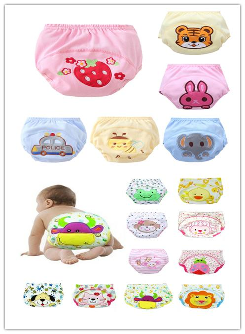 lowest price cloth diaper 10 pcs /lot diaper baby infant learning pants training pants 2532(China (Mainland))