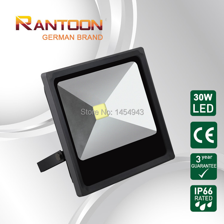 CE&Rohs Certified German brand LED floodlight ultra slim integrated style 30W floodlight ip66(China (Mainland))
